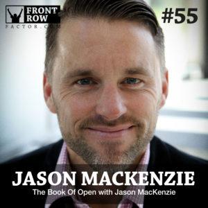 Jason MacKenzie - The Book of Open - Front Row Factor