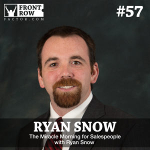 Ryan Snow - The Miracle Morning for Salespeople