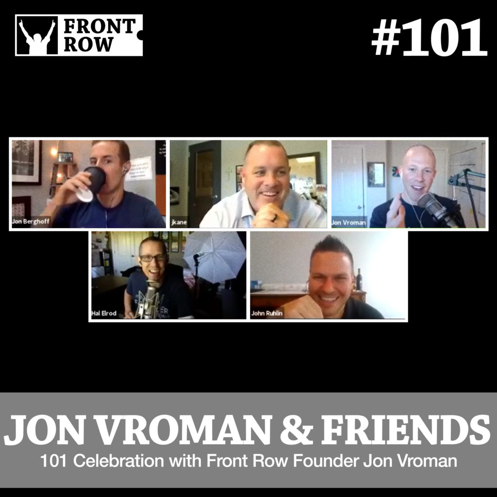 Jon Vroman - Front Row Factor - 101