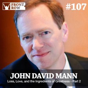 John David Mann - The Recipe - Front Row Factor