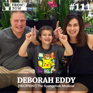 Deborah Eddy - Front Row Foundation - Spongebob
