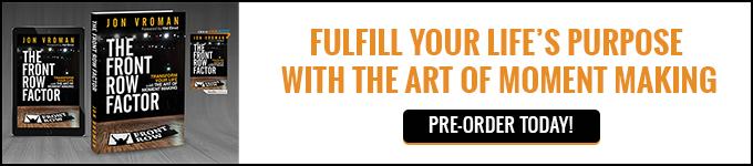 The Front Row Factor Book - Promo