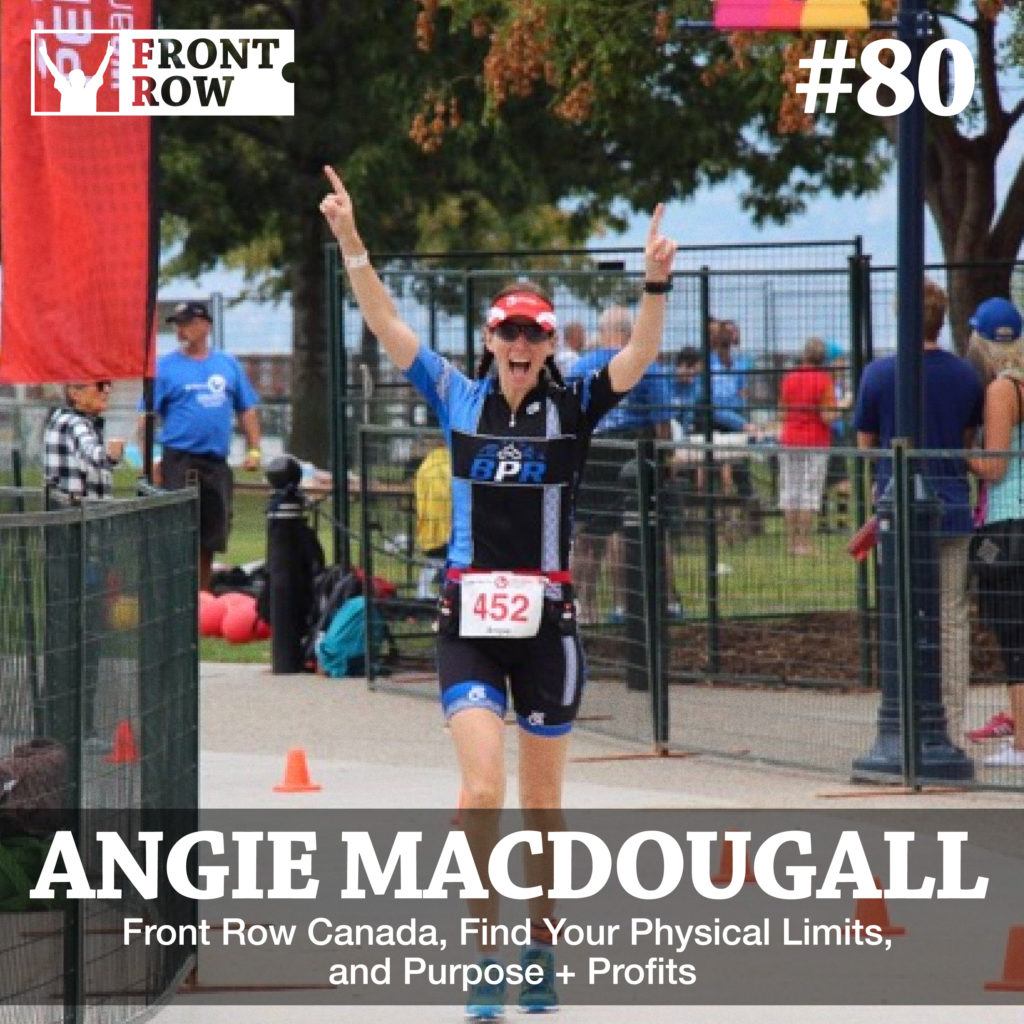 Angie Macdougall - Front Row Foundation - Vector Marketing-Front-Row-Canada