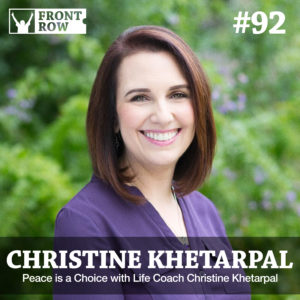 Christine Khetarpal - Front Row Factor